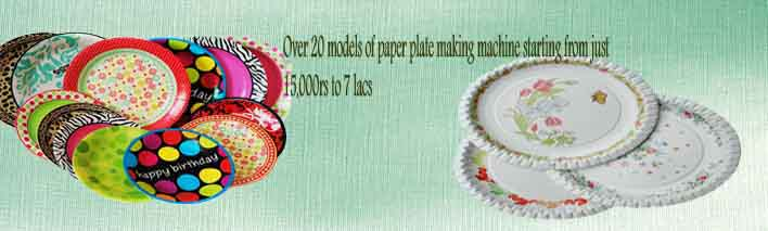 World First Time Production of 2lac Paper Plates in 8 Hours